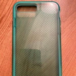 teal Tech21 phone case for iPhone 8 Plus